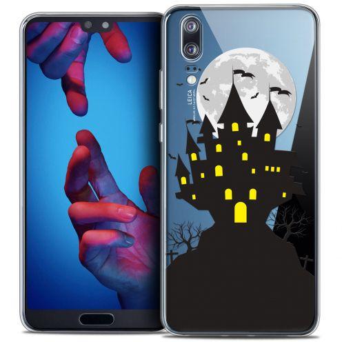"Coque Crystal Gel Huawei P20 (5.8"") Extra Fine Halloween - Castle Scream"