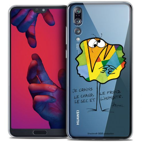 """Coque Gel Huawei P20 PRO (6.1"""") Extra Fine Les Shadoks® - Chaud ou Froid"""