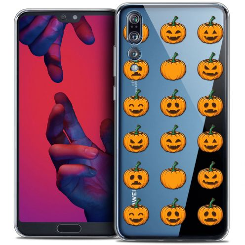 """Coque Crystal Gel Huawei P20 PRO (6.1"""") Extra Fine Halloween - Smiley Citrouille"""