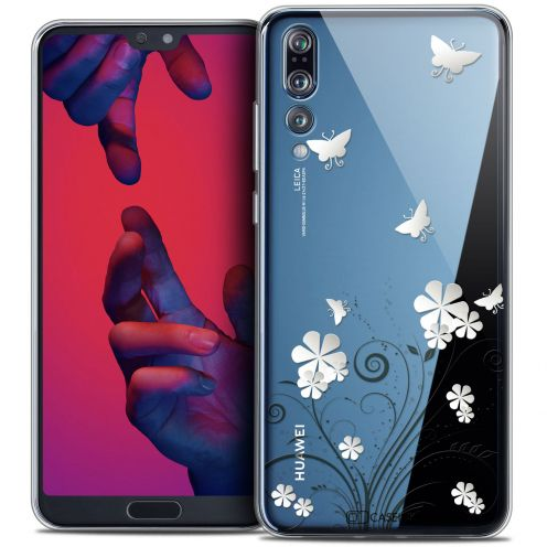 "Coque Crystal Gel Huawei P20 PRO (6.1"") Extra Fine Summer - Papillons"