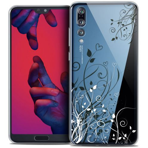 "Coque Crystal Gel Huawei P20 PRO (6.1"") Extra Fine Love - Hearts Flowers"