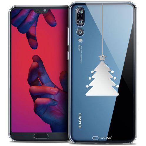 "Coque Crystal Gel Huawei P20 PRO (6.1"") Extra Fine Noël 2017 - Petit Arbre"