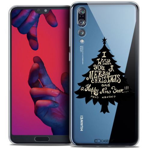 "Coque Crystal Gel Huawei P20 PRO (6.1"") Extra Fine Noël 2017 - XOXO Tree"