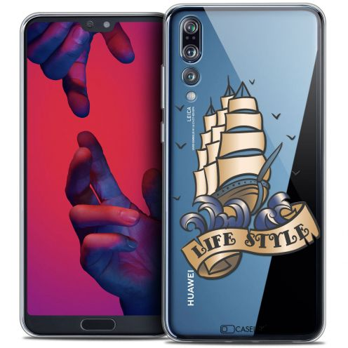 "Coque Crystal Gel Huawei P20 PRO (6.1"") Extra Fine Tatoo Lover - Life Style"