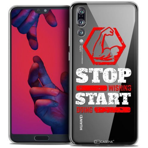 """Coque Crystal Gel Huawei P20 PRO (6.1"""") Extra Fine Quote - Start Doing"""