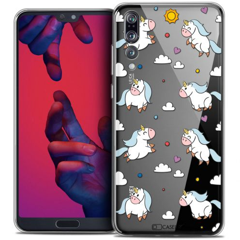 "Coque Crystal Gel Huawei P20 PRO (6.1"") Extra Fine Fantasia - Licorne In the Sky"