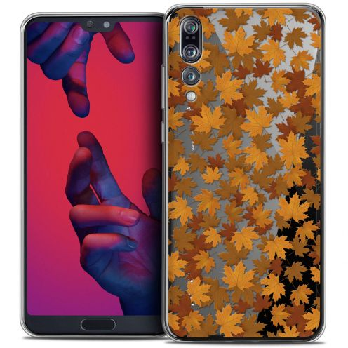 "Coque Crystal Gel Huawei P20 PRO (6.1"") Extra Fine Autumn 16 - Feuilles"