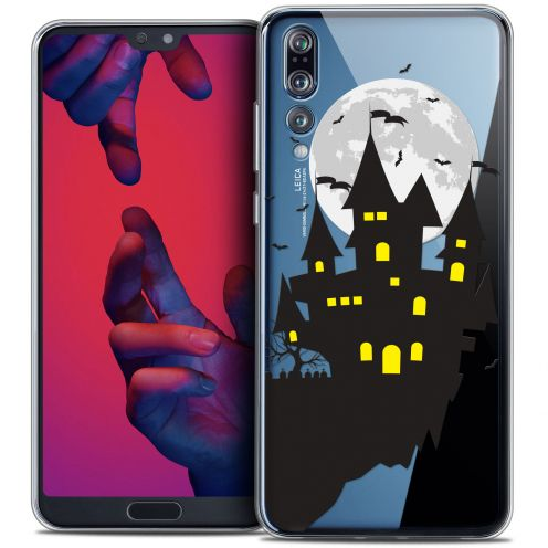 "Coque Crystal Gel Huawei P20 PRO (6.1"") Extra Fine Halloween - Castle Dream"