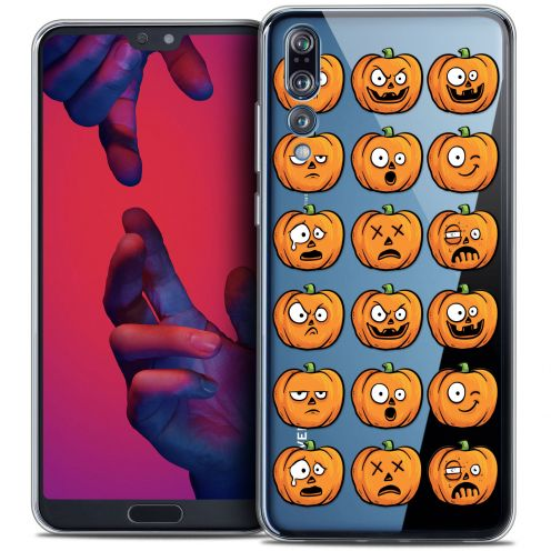 "Coque Crystal Gel Huawei P20 PRO (6.1"") Extra Fine Halloween - Cartoon Citrouille"