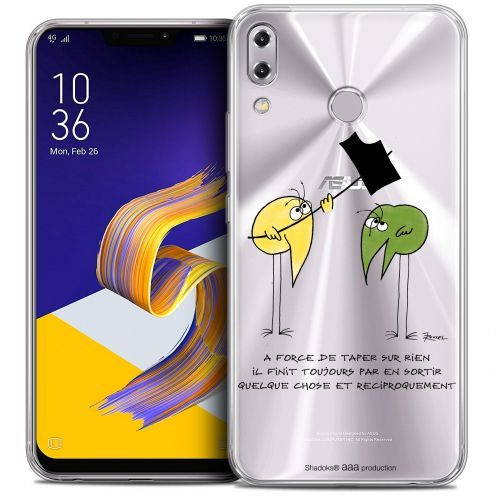 """Coque Gel Asus Zenfone 5z ZS620KL (6.2"""") Extra Fine Les Shadoks® - A Force"""