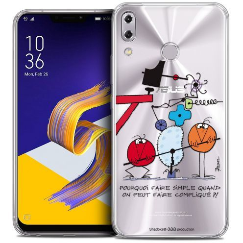 "Coque Gel Asus Zenfone 5z ZS620KL (6.2"") Extra Fine Les Shadoks® - Pourquoi faire Simple"