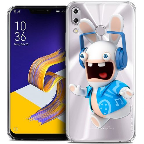 """Coque Gel Asus Zenfone 5z ZS620KL (6.2"""") Extra Fine Lapins Crétins™ - Techno Lapin"""