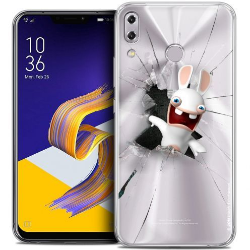"""Coque Gel Asus Zenfone 5z ZS620KL (6.2"""") Extra Fine Lapins Crétins™ - Breaking Glass"""