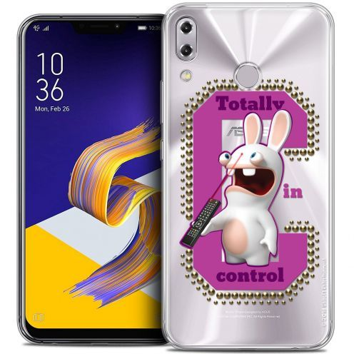 """Coque Gel Asus Zenfone 5z ZS620KL (6.2"""") Extra Fine Lapins Crétins™ - In Control !"""