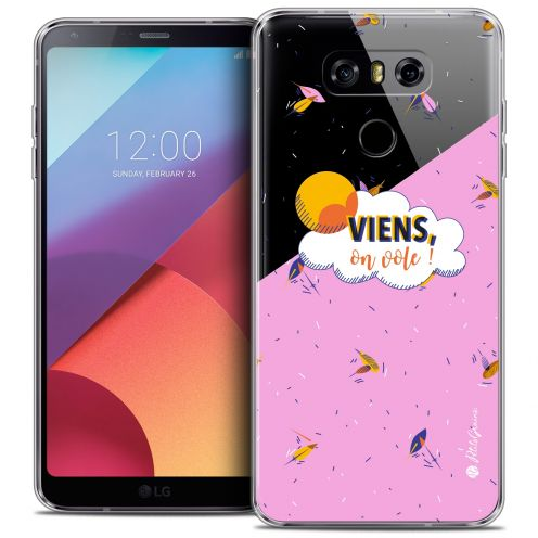 Coque Gel LG G6 Extra Fine Petits Grains® - VIENS, On Vole !