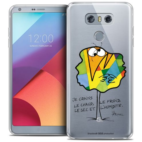 Coque Gel LG G6 Extra Fine Les Shadoks® - Chaud ou Froid