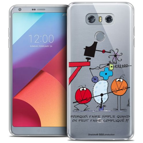 Coque Gel LG G6 Extra Fine Les Shadoks® - Pourquoi faire Simple