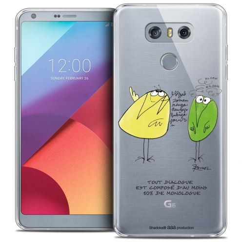 Coque Gel LG G6 Extra Fine Les Shadoks® - Le Dialogue