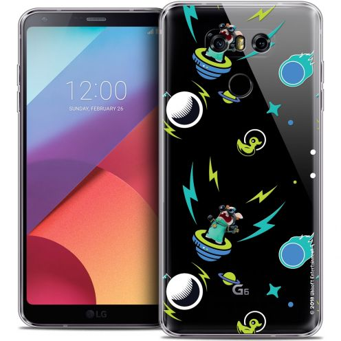 Coque Gel LG G6 Extra Fine Lapins Crétins™ - Space 1