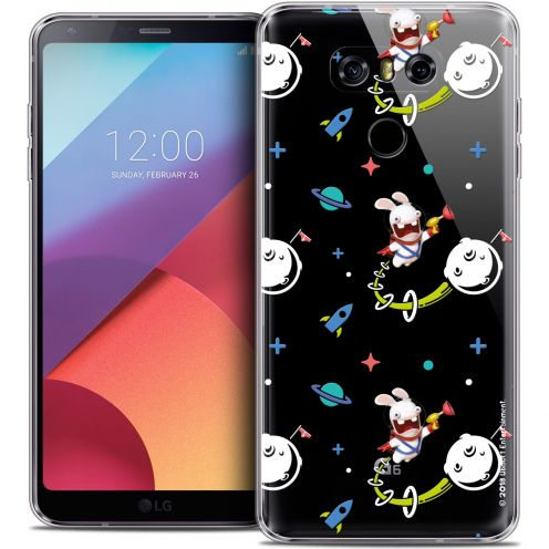 Coque Gel LG G6 Extra Fine Lapins Crétins™ - Space 2