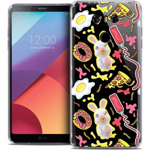 Coque Gel LG G6 Extra Fine Lapins Crétins™ - Egg Pattern