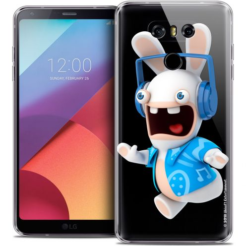 Coque Gel LG G6 Extra Fine Lapins Crétins™ - Techno Lapin