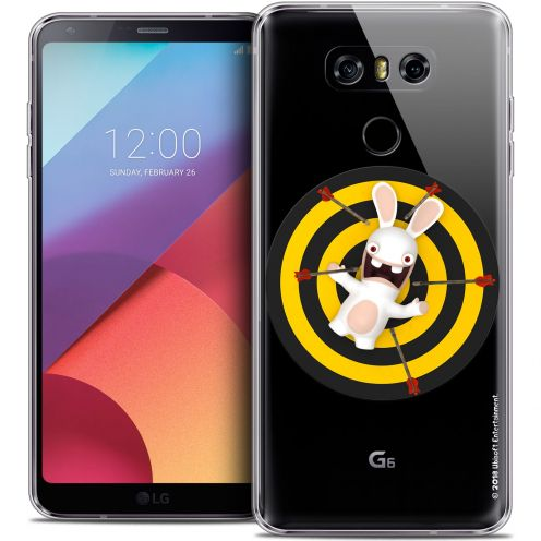 Coque Gel LG G6 Extra Fine Lapins Crétins™ - Target