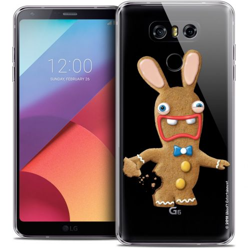 Coque Gel LG G6 Extra Fine Lapins Crétins™ - Cookie
