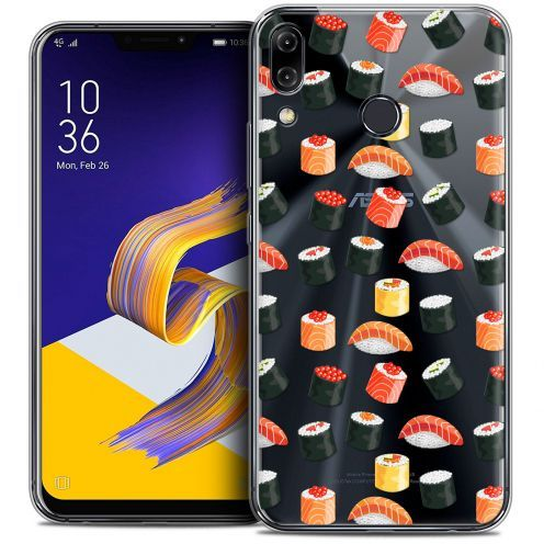 "Coque Crystal Gel Asus Zenfone 5z ZS620KL (6.2"") Extra Fine Foodie - Sushi"