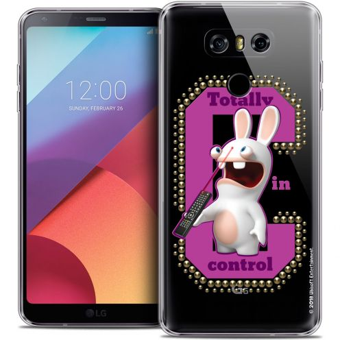 Coque Gel LG G6 Extra Fine Lapins Crétins™ - In Control !