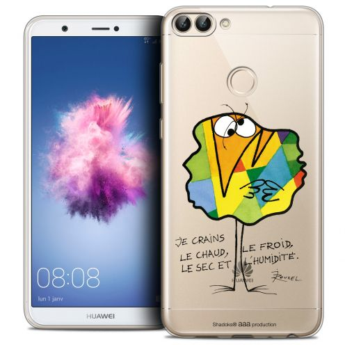 """Coque Gel Huawei P Smart (5.7"""") Extra Fine Les Shadoks® - Chaud ou Froid"""