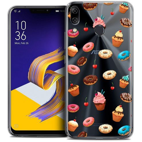 """Coque Crystal Gel Asus Zenfone 5z ZS620KL (6.2"""") Extra Fine Foodie - Donuts"""