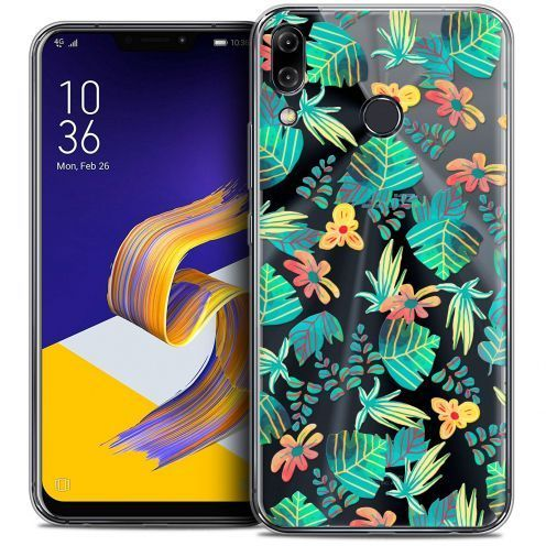 """Coque Crystal Gel Asus Zenfone 5z ZS620KL (6.2"""") Extra Fine Spring - Tropical"""
