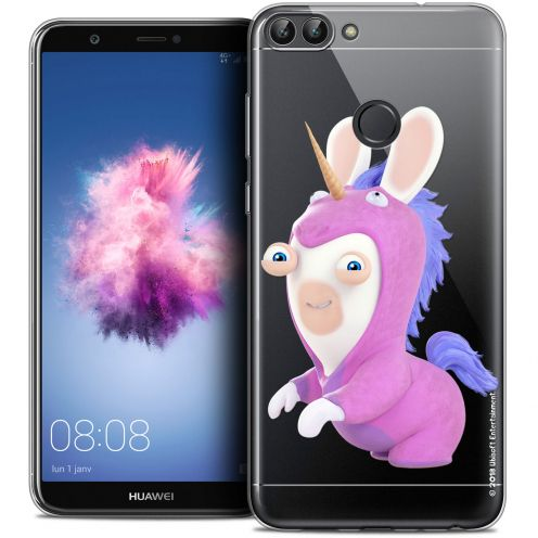"Coque Gel Huawei P Smart (5.7"") Extra Fine Lapins Crétins™ - Licorne"