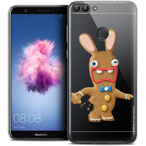 "Coque Gel Huawei P Smart (5.7"") Extra Fine Lapins Crétins™ - Cookie"