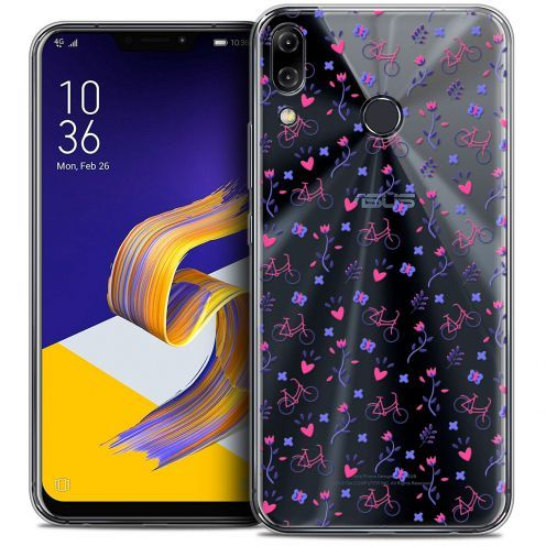 """Coque Crystal Gel Asus Zenfone 5z ZS620KL (6.2"""") Extra Fine Love - Bicycle"""