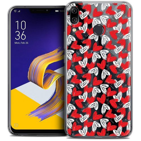 """Coque Crystal Gel Asus Zenfone 5z ZS620KL (6.2"""") Extra Fine Love - With Love"""