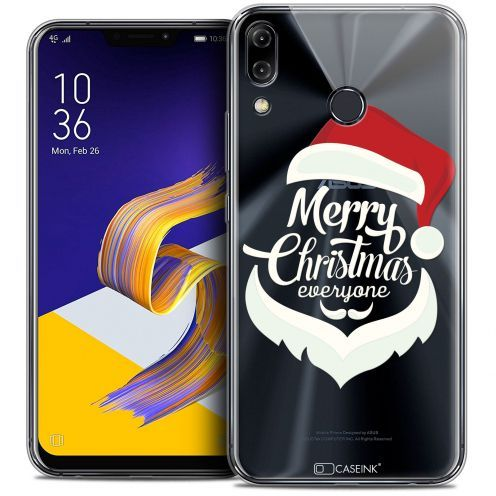"Coque Crystal Gel Asus Zenfone 5z ZS620KL (6.2"") Extra Fine Noël 2017 - Merry Everyone"