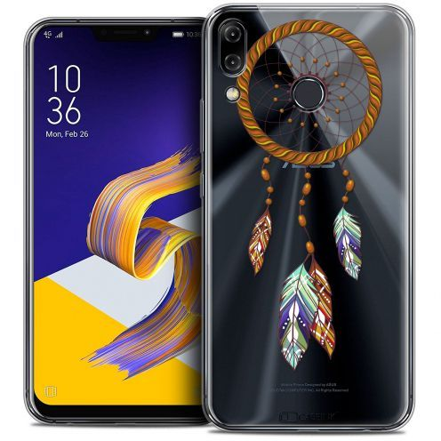 "Coque Crystal Gel Asus Zenfone 5z ZS620KL (6.2"") Extra Fine Dreamy - Attrape Rêves Shine"