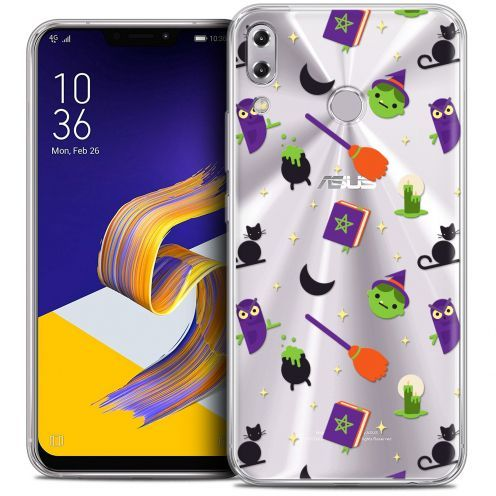 "Coque Crystal Gel Asus Zenfone 5z ZS620KL (6.2"") Extra Fine Halloween - Witch Potter"