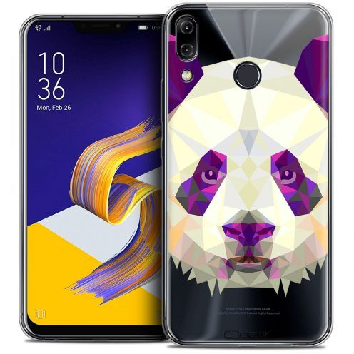"Coque Crystal Gel Asus Zenfone 5 ZE620KL (6.2"") Extra Fine Polygon Animals - Panda"