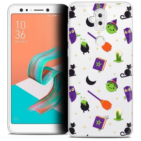"Coque Crystal Gel Asus Zenfone 5 LITE ZC600KL (6.0"") Extra Fine Halloween - Witch Potter"