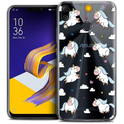 "Coque Crystal Gel Asus Zenfone 5 ZE620KL (6.2"") Extra Fine Fantasia - Licorne In the Sky"