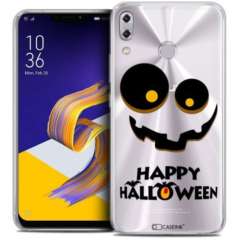 "Coque Crystal Gel Asus Zenfone 5 ZE620KL (6.2"") Extra Fine Halloween - Happy"