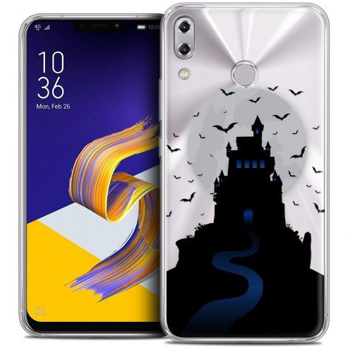"Coque Crystal Gel Asus Zenfone 5 ZE620KL (6.2"") Extra Fine Halloween - Castle Nightmare"