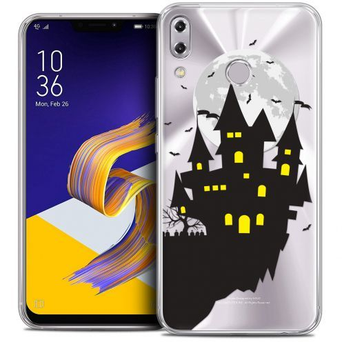 "Coque Crystal Gel Asus Zenfone 5 ZE620KL (6.2"") Extra Fine Halloween - Castle Dream"