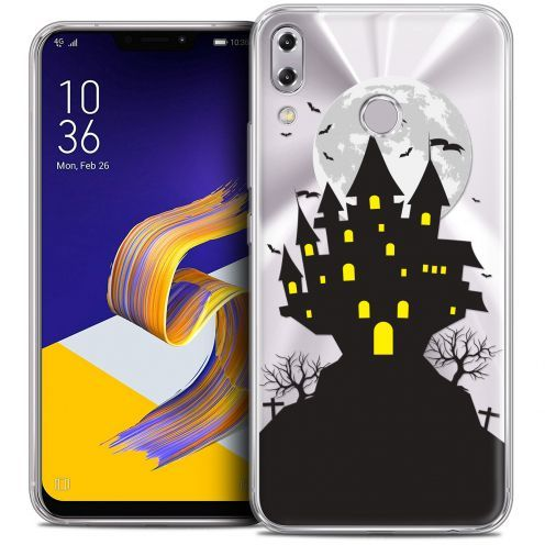 "Coque Crystal Gel Asus Zenfone 5 ZE620KL (6.2"") Extra Fine Halloween - Castle Scream"