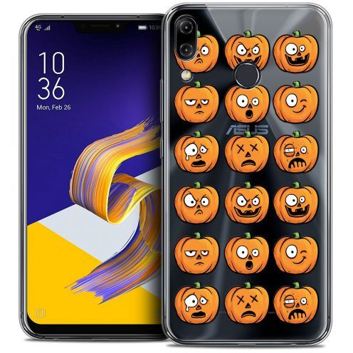 "Coque Crystal Gel Asus Zenfone 5 ZE620KL (6.2"") Extra Fine Halloween - Cartoon Citrouille"