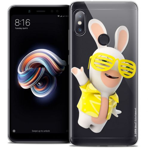"Coque Gel Xiaomi Redmi Note 5 (5.99"") Extra Fine Lapins Crétins™ - Sun Glassss!"