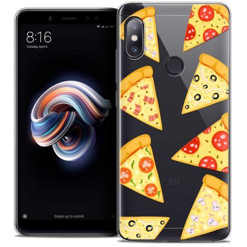 "Coque Crystal Gel Xiaomi Redmi Note 5 (5.99"") Extra Fine Foodie - Pizza"